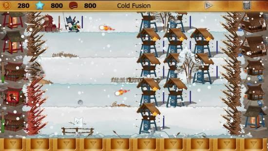 Ninja Cats vs Samurai Dogs Gameplay
