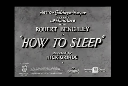 how to sleep