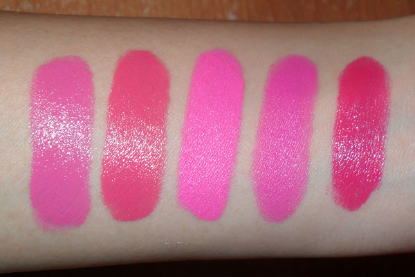 The Makeup Box: Barry M 52 Shocking Pink Lip Paint: Swatches and ...