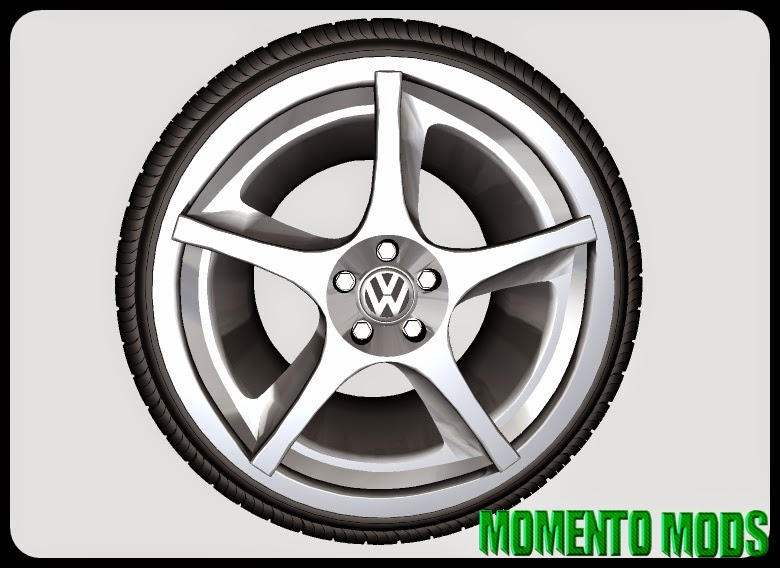 ZM - Roda Vw (Réplica Porsche Cayenne)