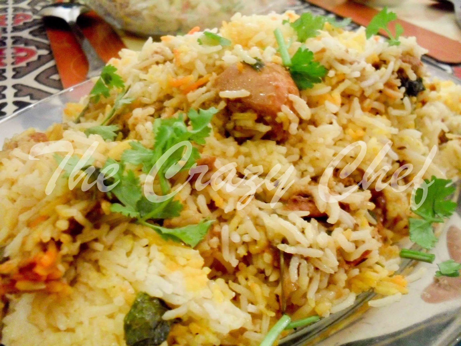 Pakistani Chicken Biryani Chicken biryani