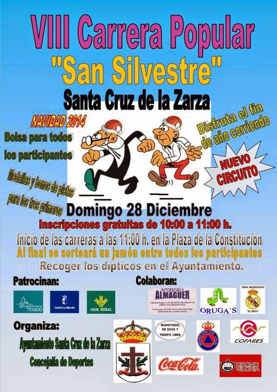 VIII San Silvestre de Santa Cruz de la Zarza