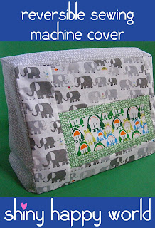 free pattern sewing machine cover