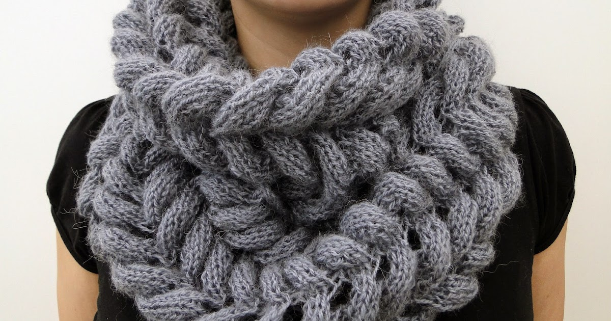 Free Knitting Patterns For Cowls And Snoods : 3 Rabbits Patterns: Scarf Cowl Knitting Pattern