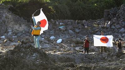 attivisti giapponesi sulle isole Senkaku