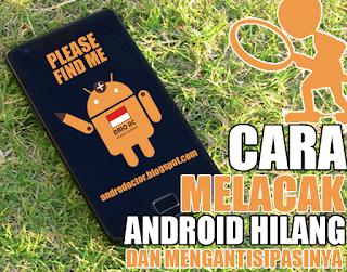 Cara melacak Android yang hilang - Drio AC, Dokter Android
