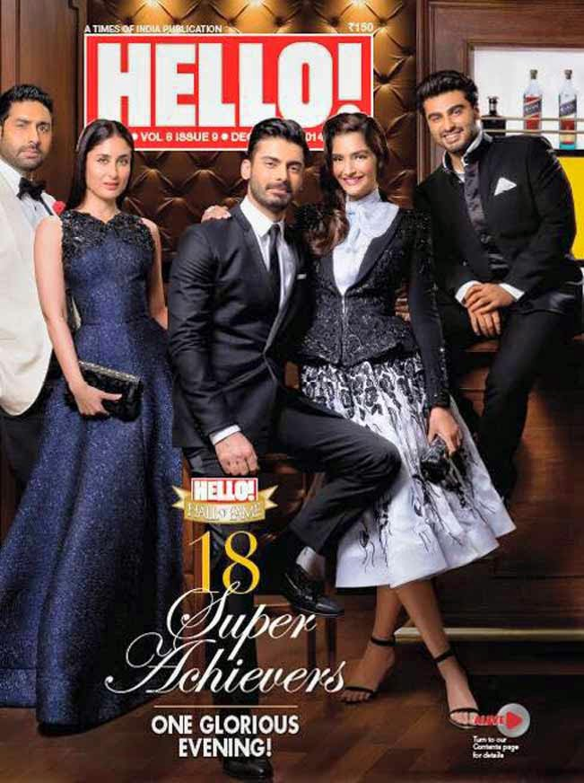 HEllo Magazine Fawad Khan