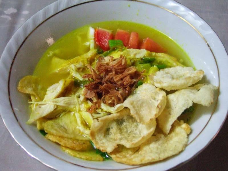 bahan dan cara pembuatan soto lamongan, resep membuat soto lamongan, soto khas jawaResep dan Cara Pembuatan Soto Lamongan,