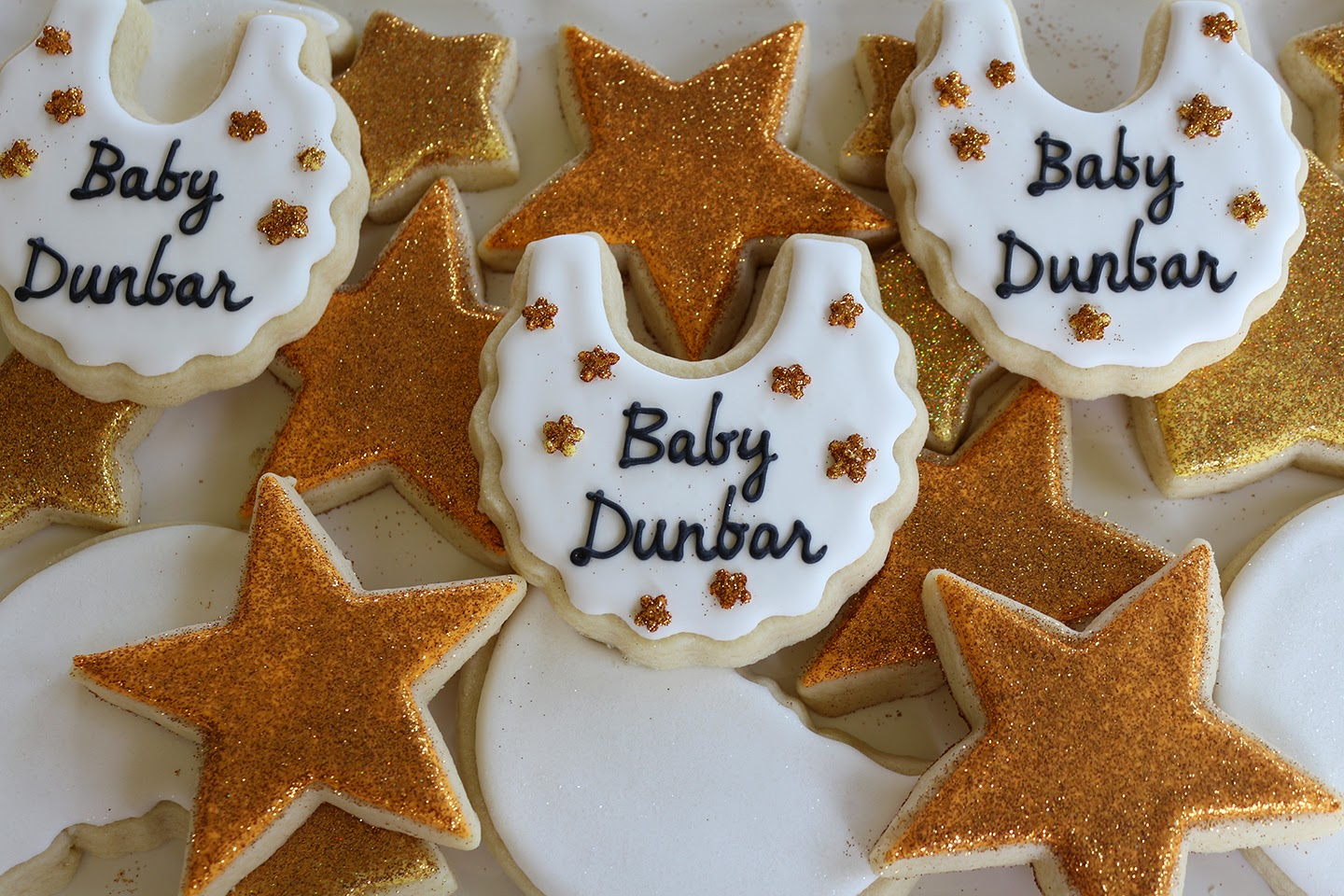 Twinkle Twinkle Little Star Baby Shower Cookies