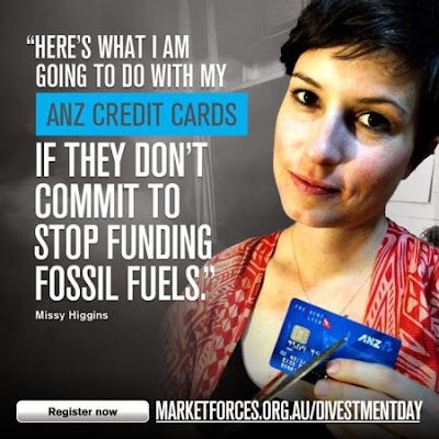 Missy Higgins endorses Divestment Day