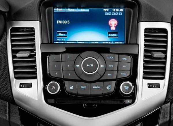 2016 Chevrolet Cruze New Interior