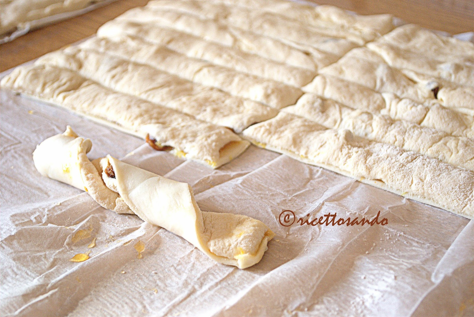 Kranz dolci  ricetta di pasta sfoglia e pastabrioche