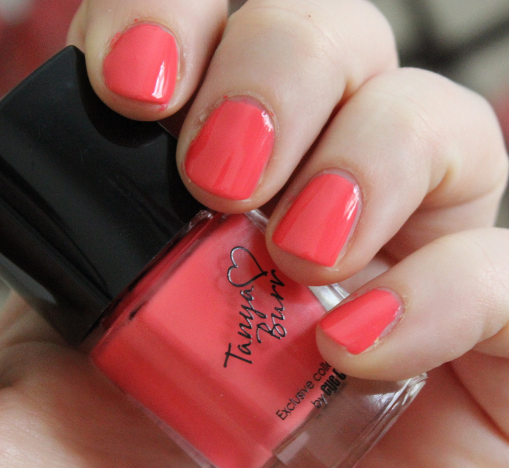 Tanya burr bright and early nail polish review photos lovely girlie