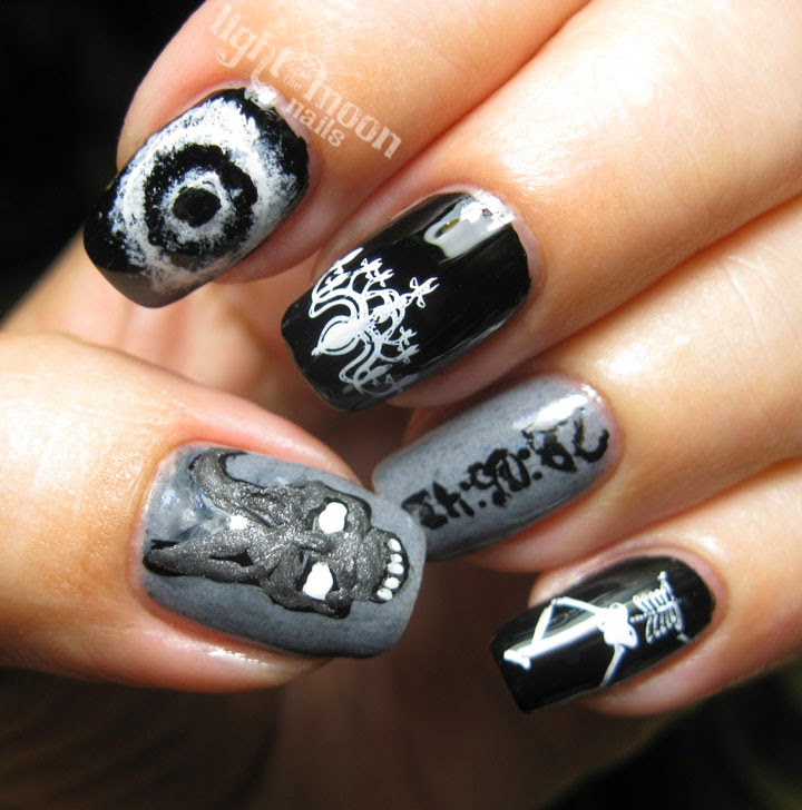Light Of The Moon Nails Cult Classic Nail Art
