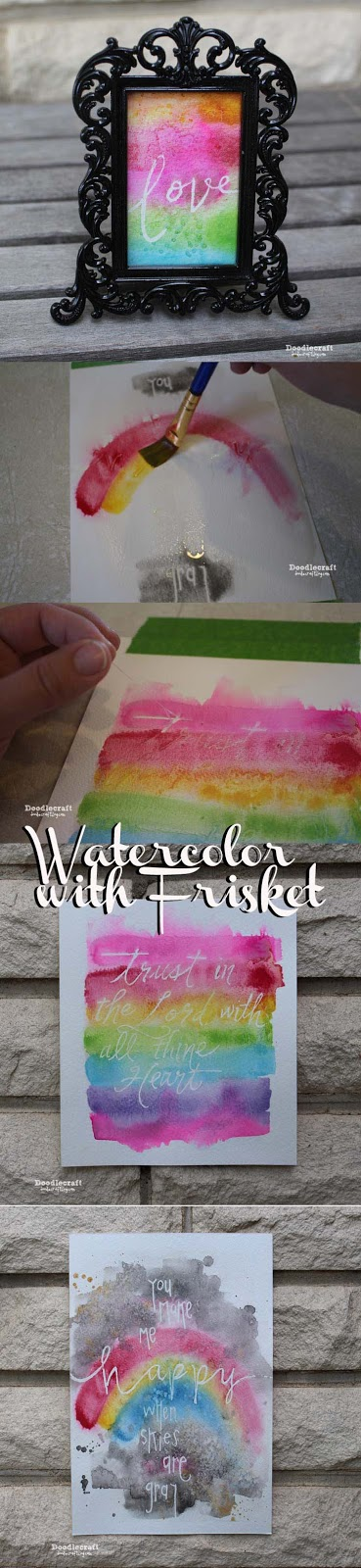 http://www.doodlecraftblog.com/2015/06/watercolor-word-art-with-frisket.html