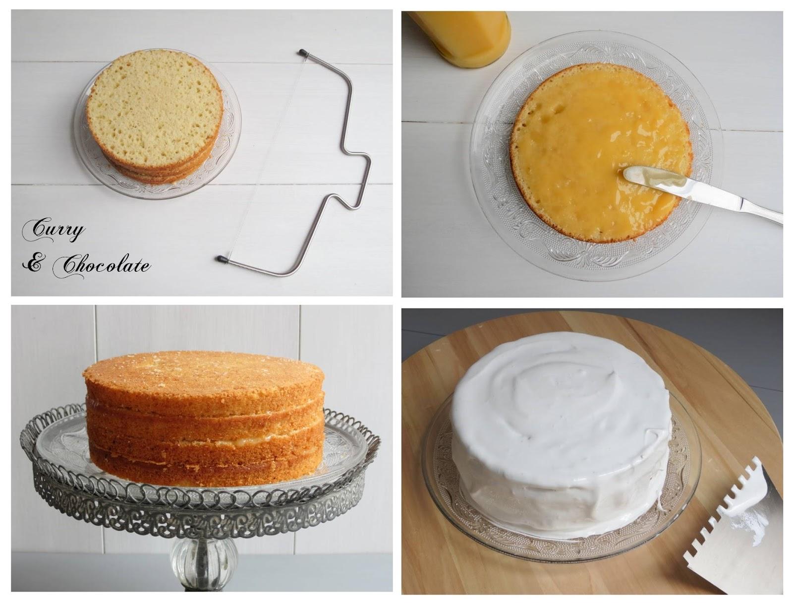 Montaje de al tarta