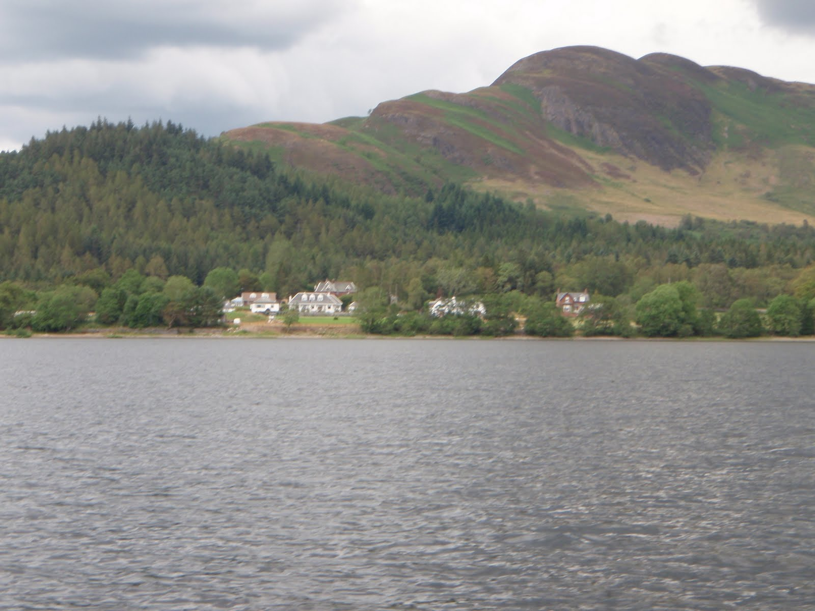 Scottish fishing guide conic hill loch lomond for Loch lomond fishing