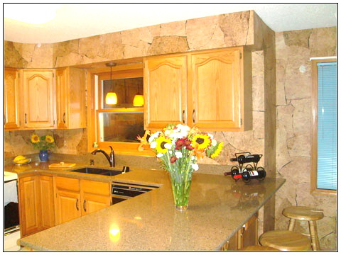 Kitchen wallpaper designs images magazine for Kitchen wallpaper ideas