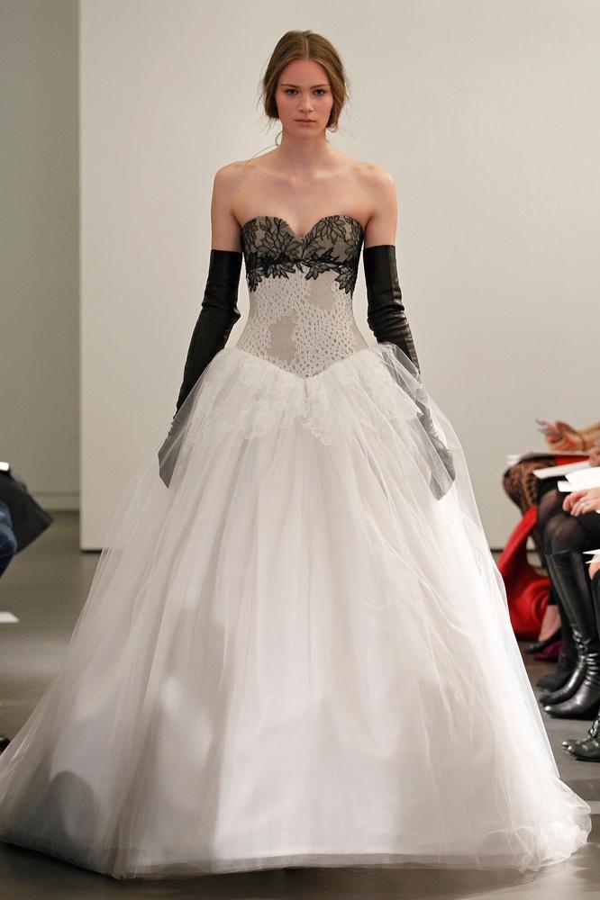 Unforgettable Black, White Bridal Wedding Gowns | bridal and wedding ...