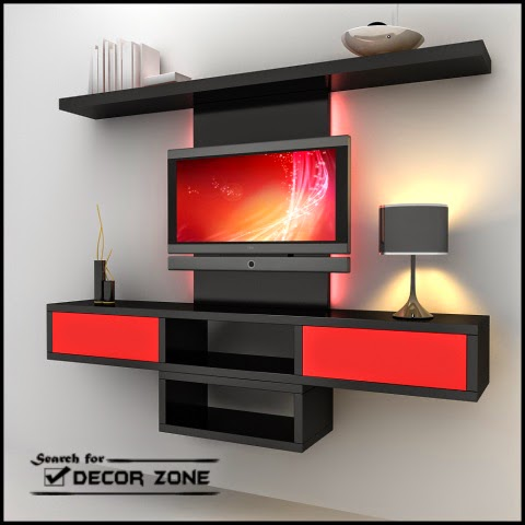 modern tv units: 20 designs and choosing tips