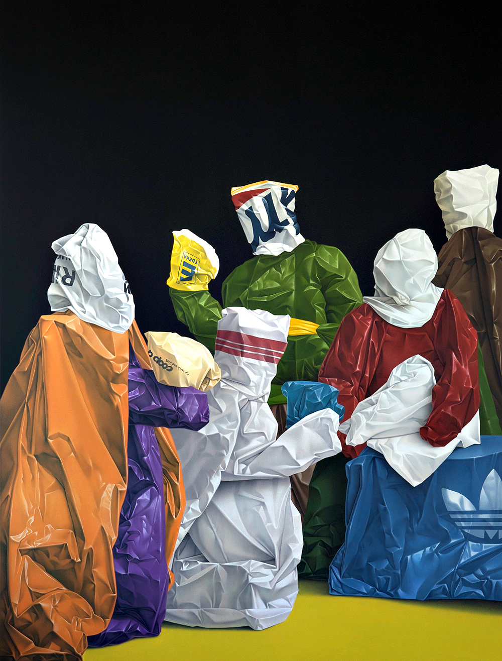 nuncalosabre.Pintura. Painting - ©Eckart Hahn