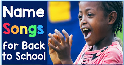 3 get to know you name songs for back to school