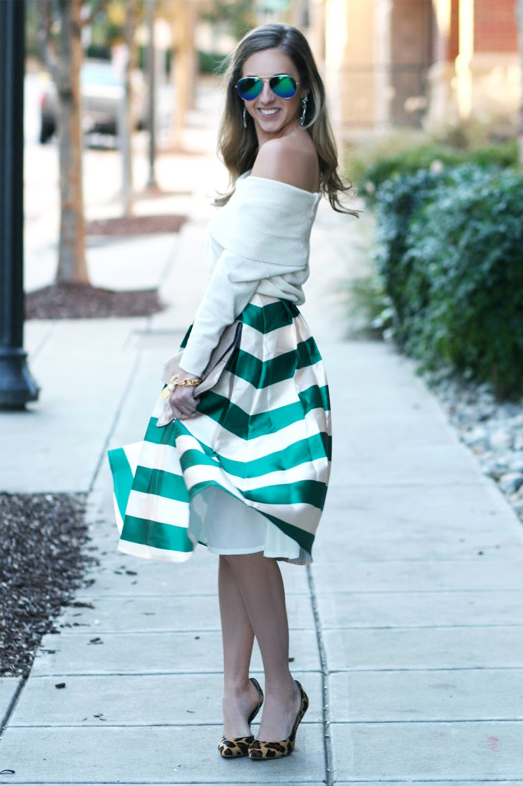 off-the-shoulder-sweater-with-midi-skirt-street-style