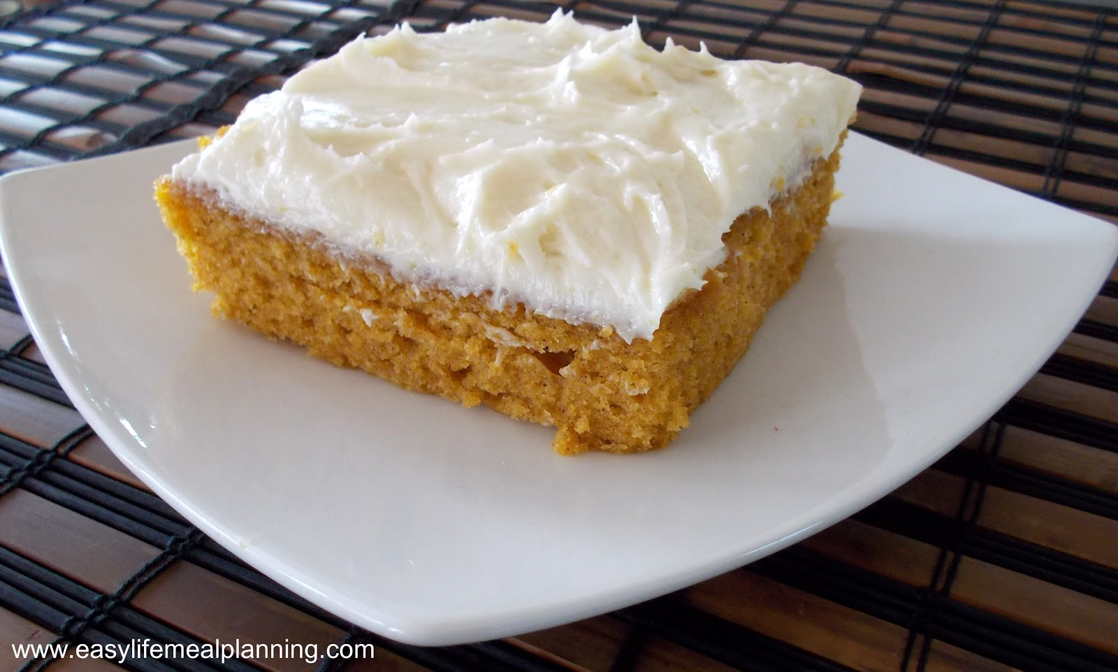 Easy Pumpkin Bars With Spice Cake Mix