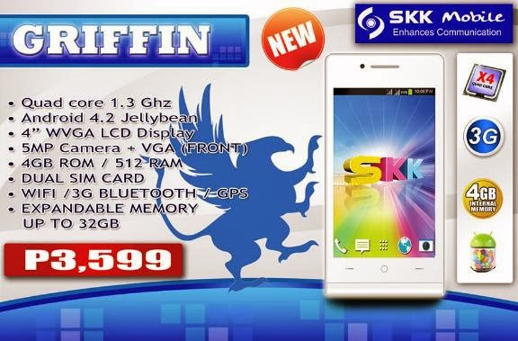 SKK Mobile Griffin, Quad For Php3,599