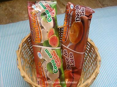 Picolé BomNocô: Picolés de Coco com Goiaba e de Doce de Leite