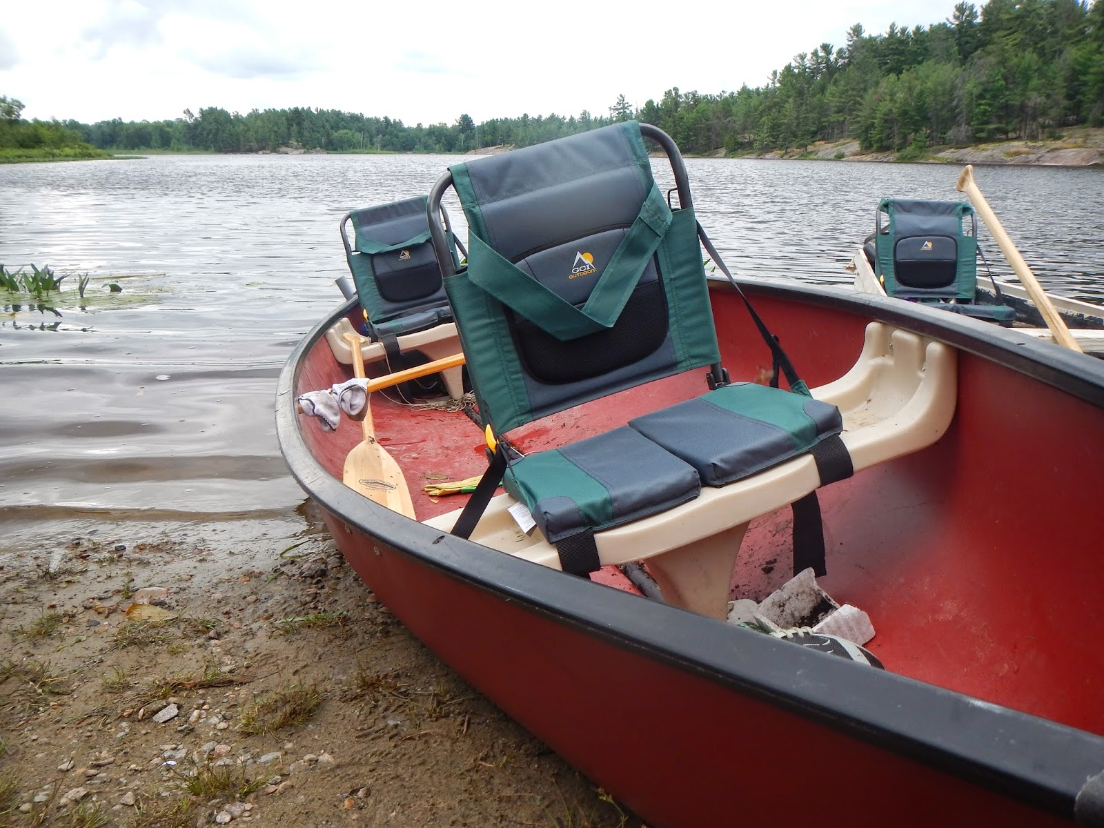 Simple ways to outfit a fishing canoe real man travels for Fishing from a canoe