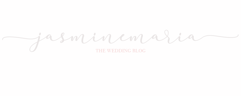 Jasmine Maria - The Wedding Blog