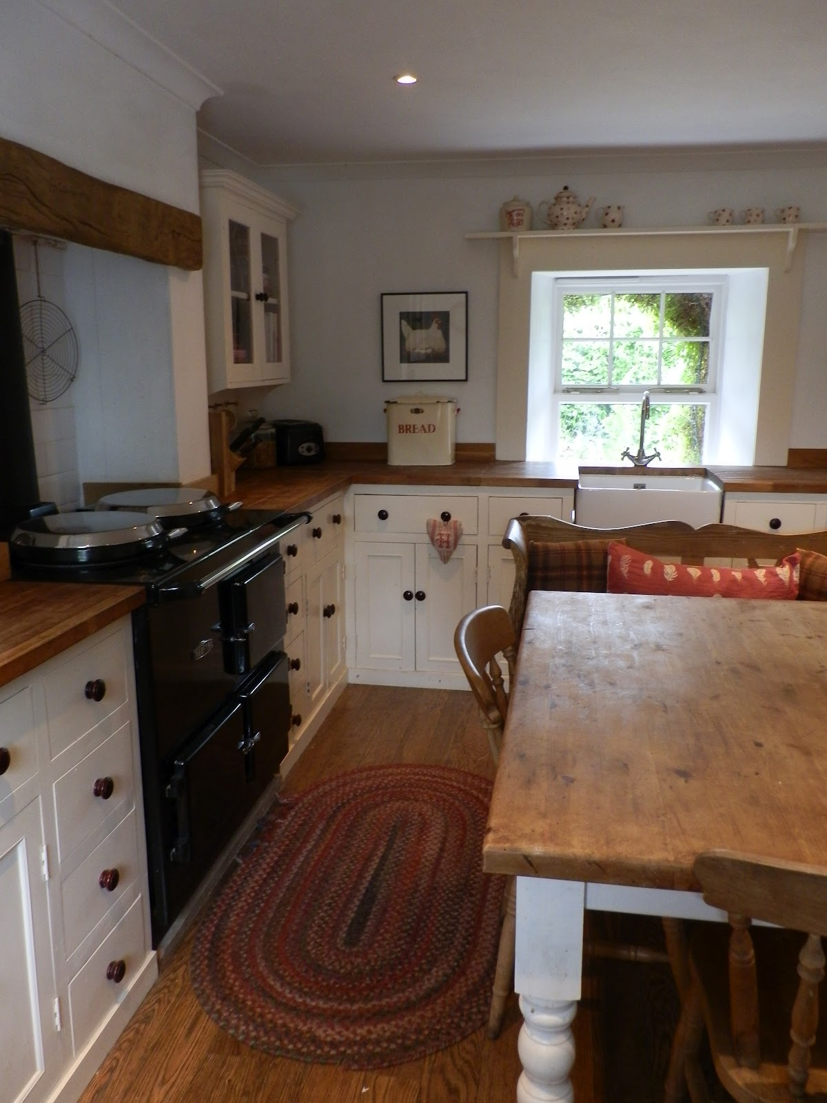 A bonnie life in the country our first home for Country cottage kitchen design