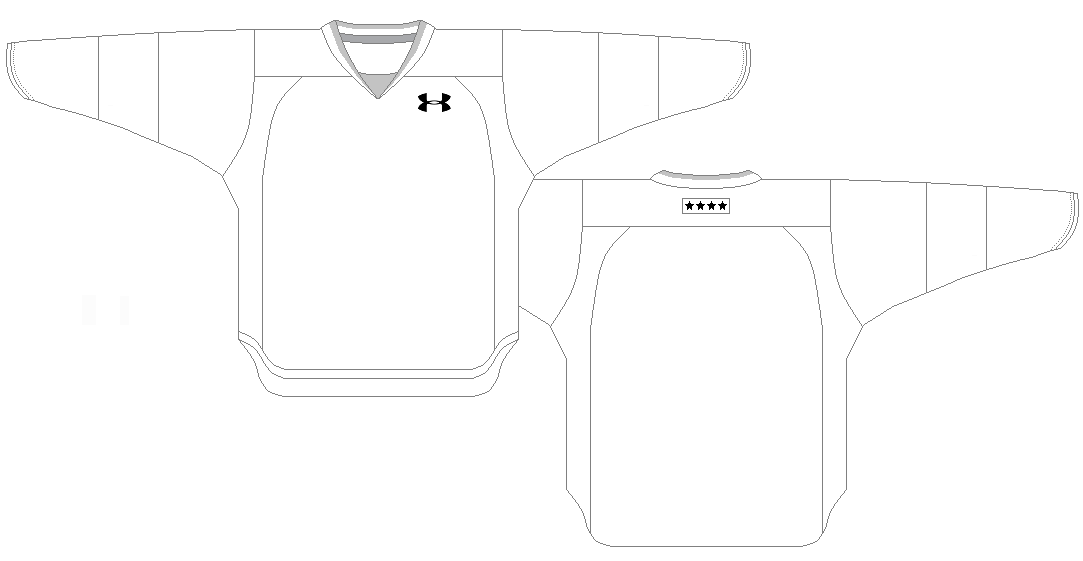 outline of a hockey jersey templates. Black Bedroom Furniture Sets. Home Design Ideas