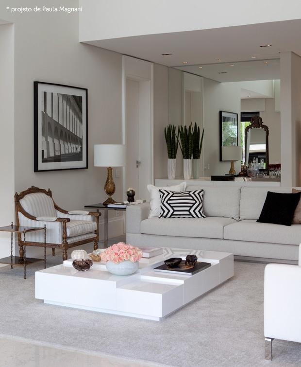 decoracao laca branca : decoracao laca branca:Em madeira rústica, em laca, espelhadas elas dão um ar mais