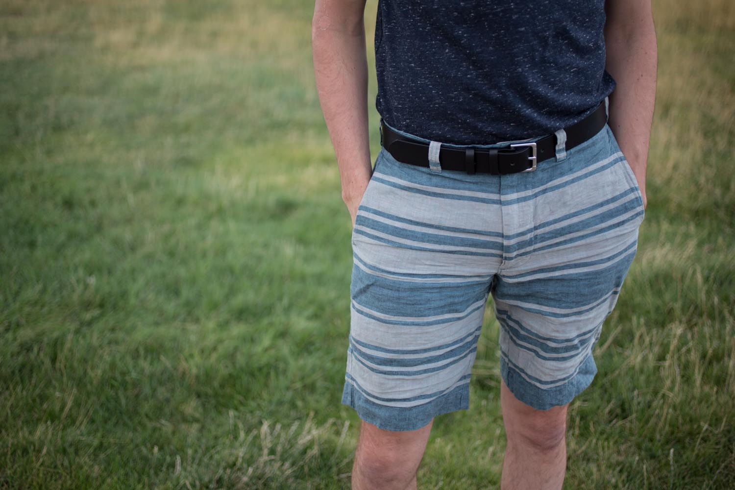 Jcrew Stripe Shorts