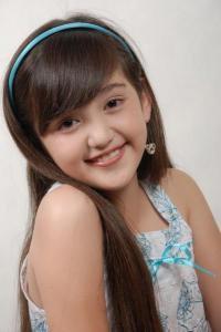 Foto Ranty Maria saat masih kecil