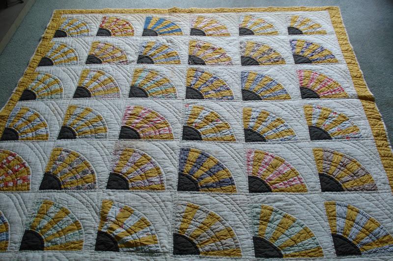 Welsh Quilts Welsh Patchwork Fan Quilt