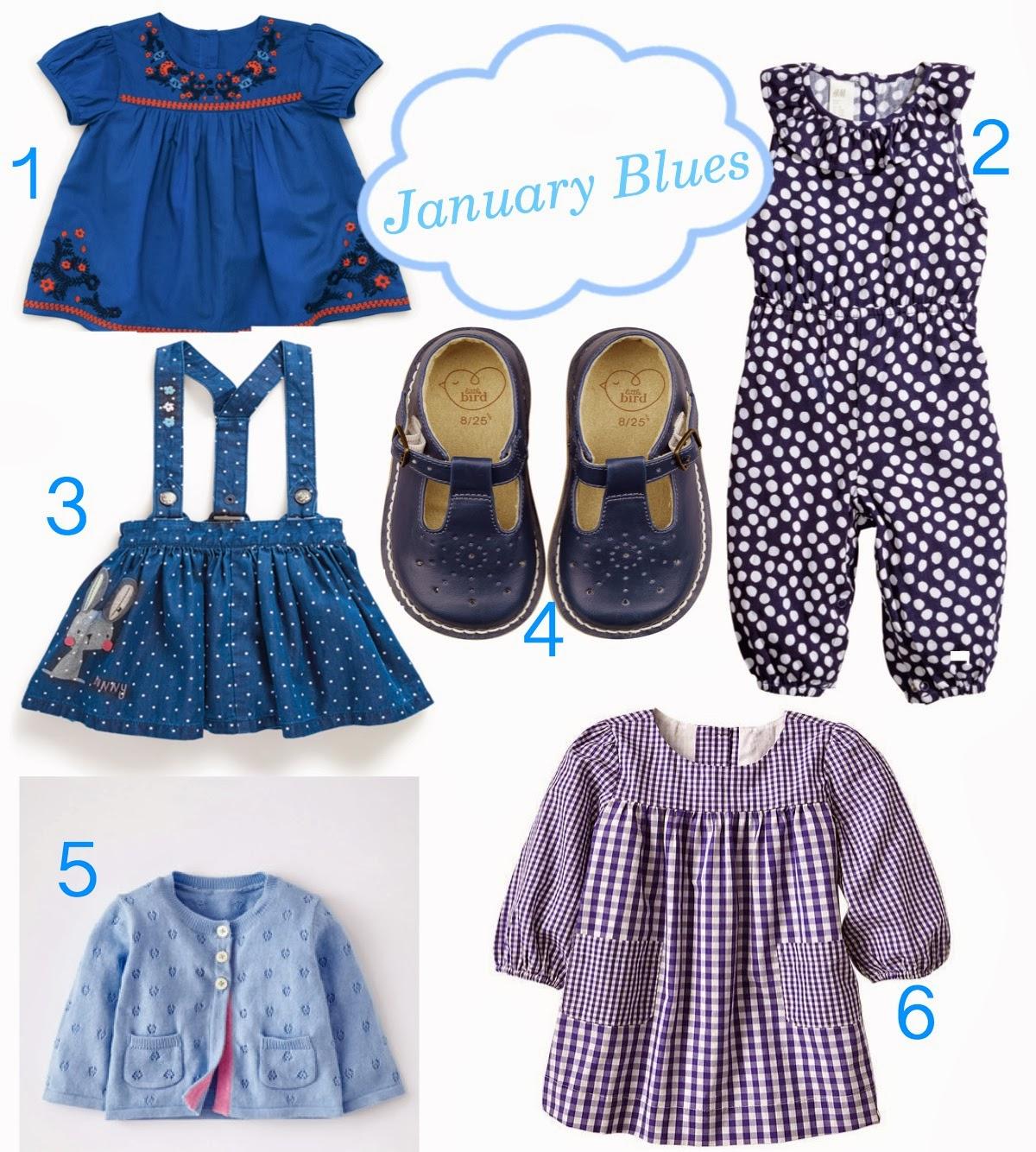 mamasVIB | V. I. BUYS: Beat those January blues…for little girls, V. I. BABY | Beat those January blues | girls fashion | baby style | blue fashion | mamasVIB | kids style