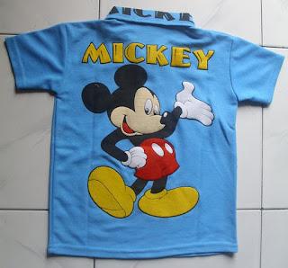 Kaos Krah Mickey
