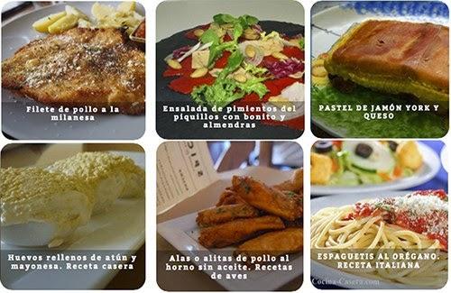 Recetas de comidas r pidas caseras recetas de cocina for Comidas rapidas caseras