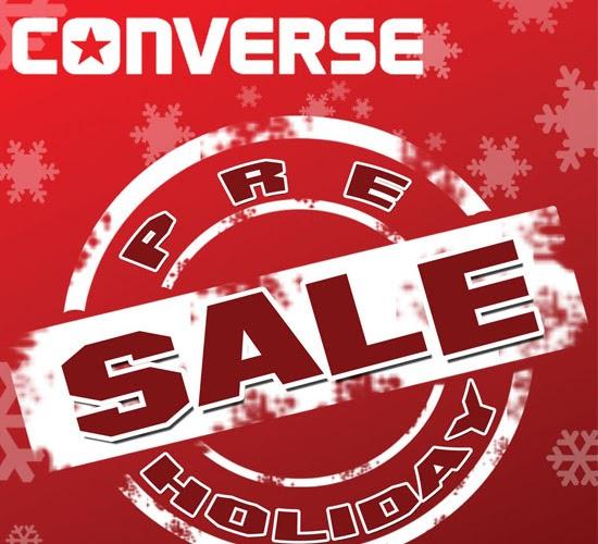 Sale Alert | Converse Pre-Holiday Sale