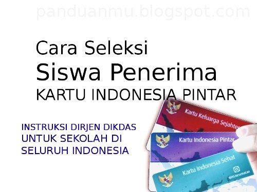 KIP Katu Indonesia Pintar pengganti BSM