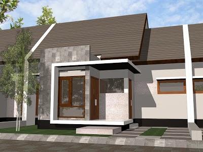 desain rumah minimalis 10×12 modern
