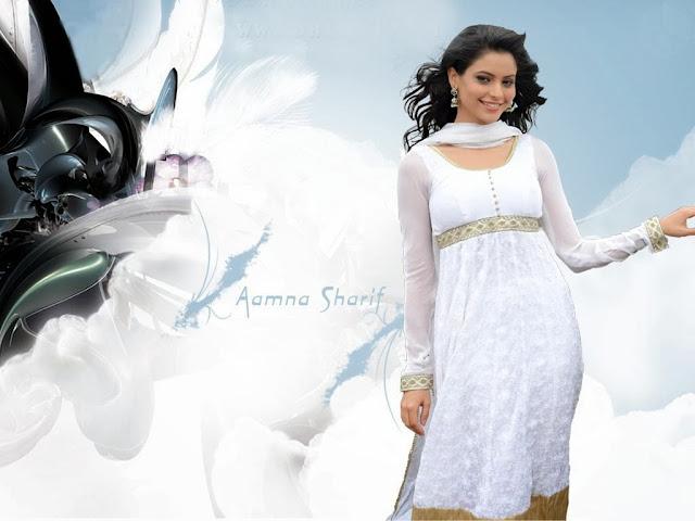 Aamna Shariff HD Wallpaper