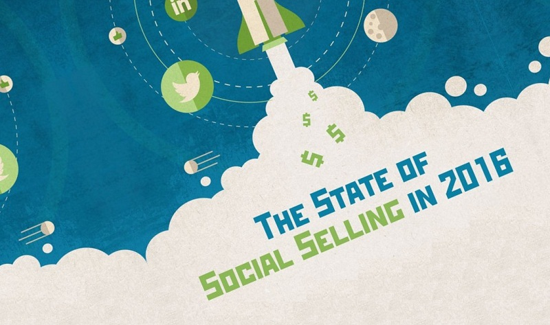 The State Of Social Selling In 2016 - #Infographic