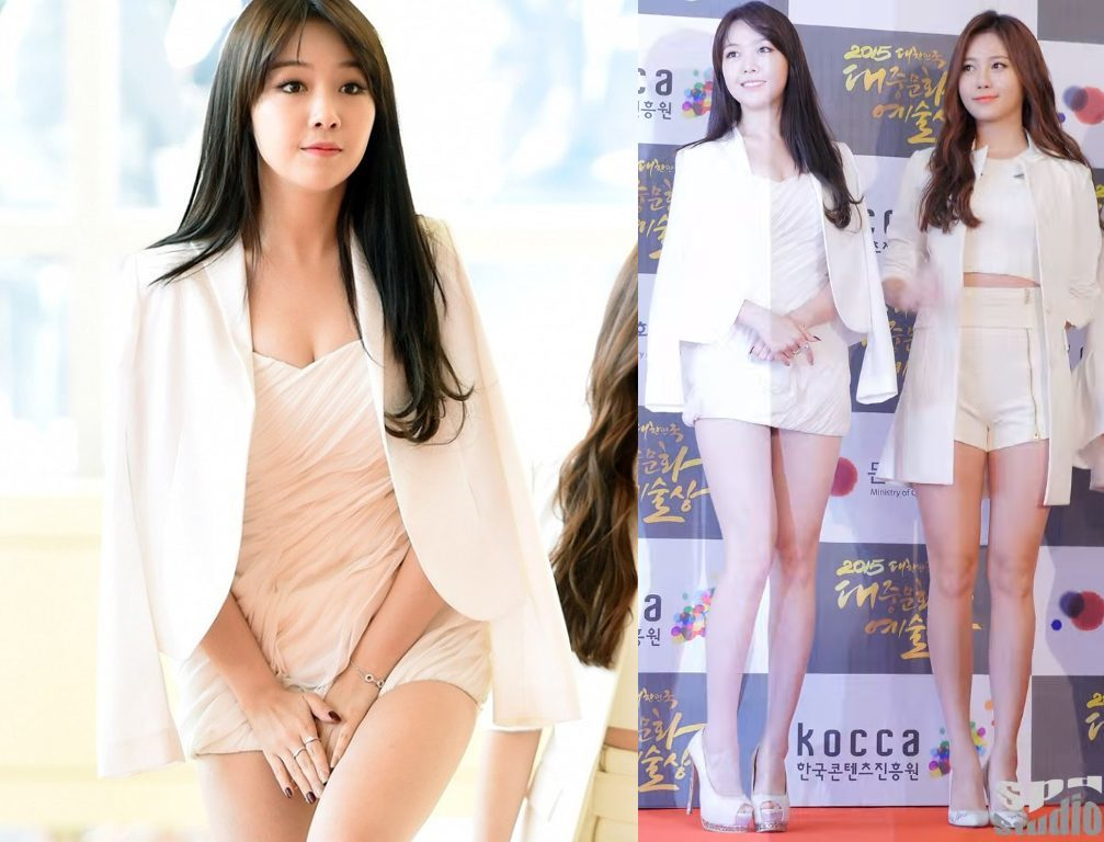 foto Minah Girls Day pakai dress mini