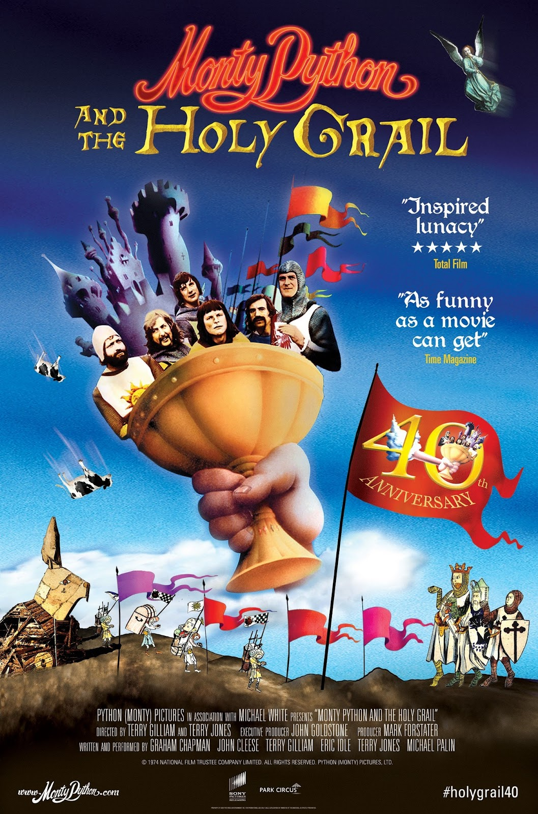 Park Circus Presents Monty Python and the Holy Grail 40th Anniversary Screening Poster