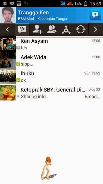 BBM Mod iphone Ui For Android v2.4.0.9 - Oprek Andromax