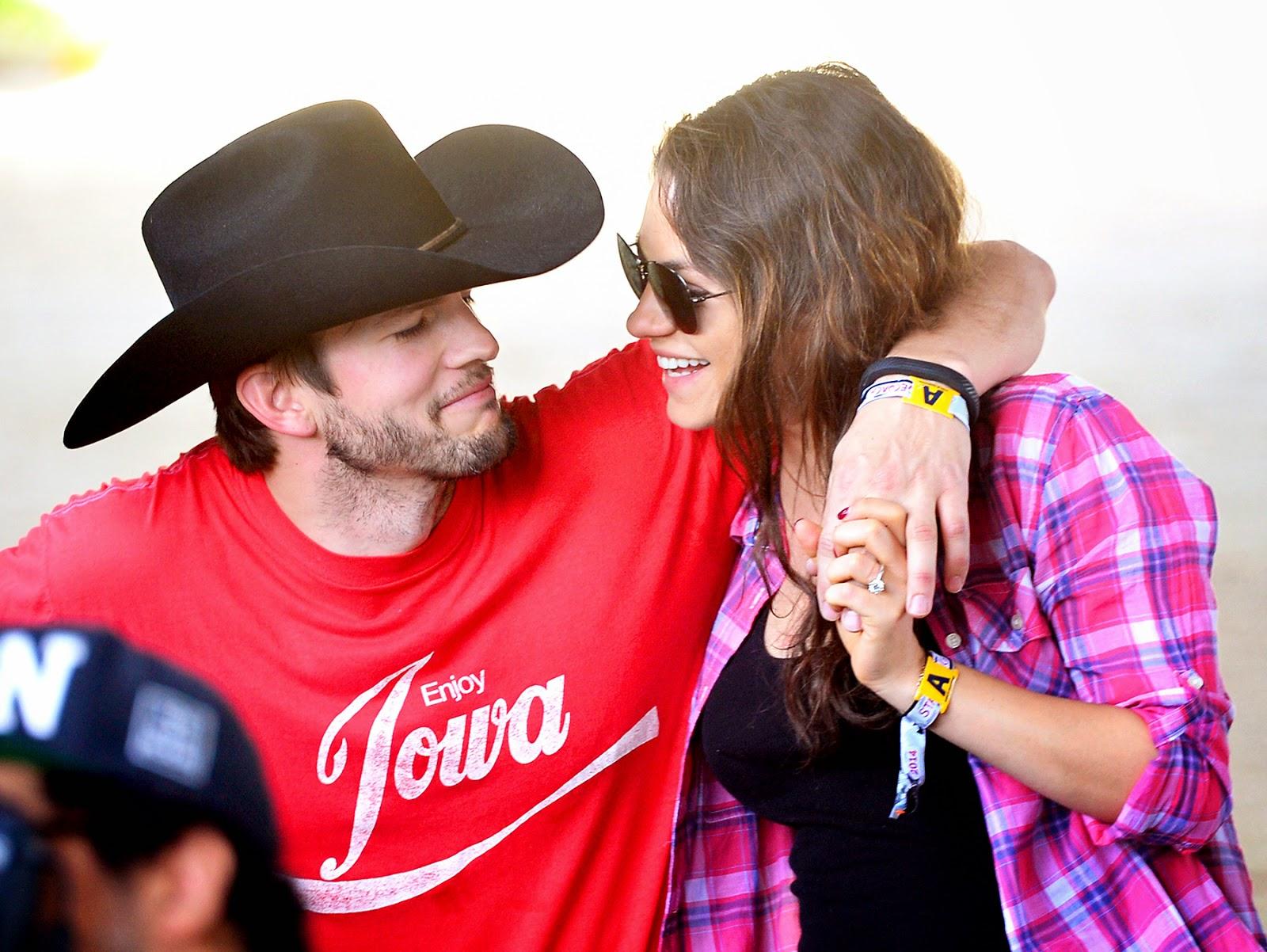 ashton kutcher and mila kunis dating